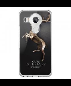 GoT House Baratheon - LG Nexus 5X Carcasa Transparenta Silicon