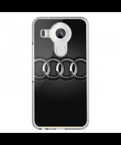Audi - LG Nexus 5X Carcasa Transparenta Silicon