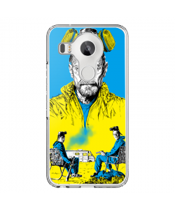Breaking Bad III - LG Nexus 5X Carcasa Transparenta Silicon