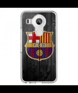 FCB - LG Nexus 5 Carcasa Transparenta Silicon