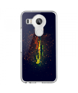 CS Go 2 - LG Nexus 5X Carcasa Transparenta Silicon