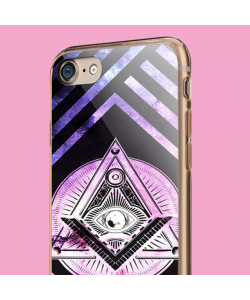 Look Me in the Eye - iPhone 7 / iPhone 8 Carcasa Transparenta Silicon