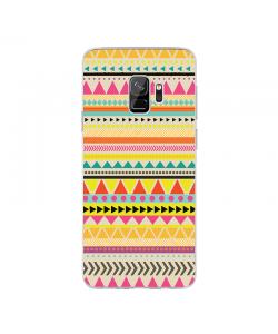 Lost in Stripes - Samsung Galaxy S9 Carcasa Transparenta Silicon