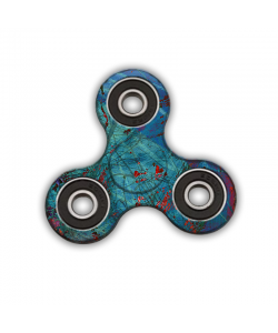 Fidget Spinner - Metallic Scratch
