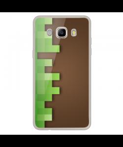 Minecraft - Samsung Galaxy J7 2017 Carcasa Transparenta Silicon