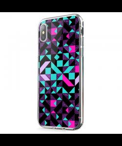 Mirror Effect - iPhone X Carcasa Transparenta Silicon