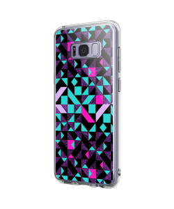 Mirror Effect - Samsung Galaxy S8 Plus Carcasa Premium Silicon