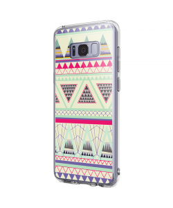 Mountain Sight - Samsung Galaxy S8 Carcasa Premium Silicon