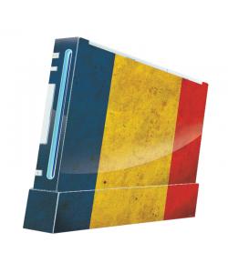 Romania - Nintendo Wii Consola Skin