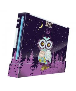 Night Owl - Nintendo Wii Consola Skin