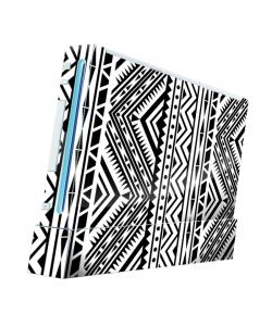 Tribal Black & White - Nintendo Wii Consola Skin
