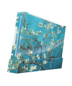 Van Gogh - Branches with Almond Blossom - Nintendo Wii Consola Skin