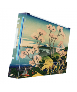 Hokusai - The Fuji from Gotenyama at Shinagawa on the Tokaido - Nintendo Wii Consola Skin