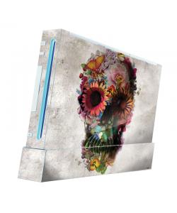Spring skull - Nintendo Wii Consola Skin