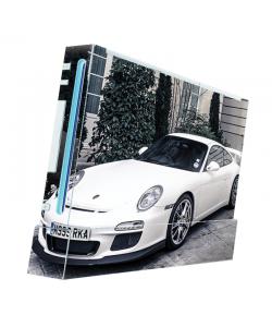 Porsche -  Nintendo Wii Consola Skin