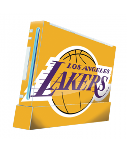 Los Angeles Lakers - Nintendo Wii Consola Skin