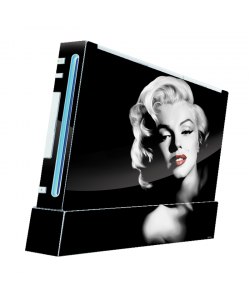 Marilyn - Nintendo Wii Consola Skin