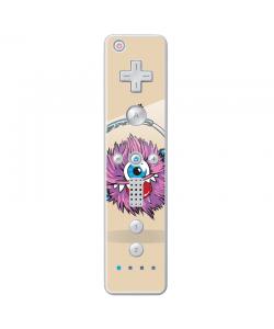 Fluffy Headphones - Nintendo Wii Remote Skin