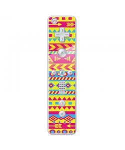 Yellow Frenzy - Nintendo Wii Remote Skin