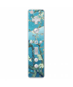 Van Gogh - Branches with Almond Blossom - Nintendo Wii Remote Skin