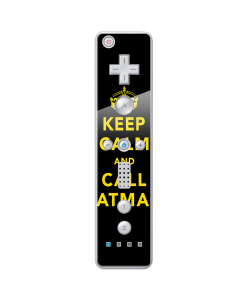 Keep Calm and Call Batman - Nintendo Wii Remote Skin