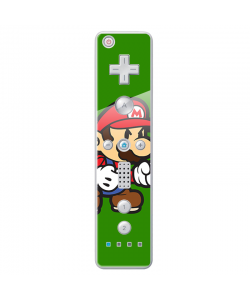 Mario One - Nintendo Wii Remote Skin