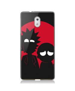 Rick and Morty - Nokia 3 Carcasa Transparenta Silicon