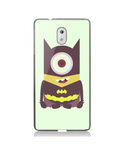 Minion Batman - Nokia 3 Carcasa Transparenta Silicon