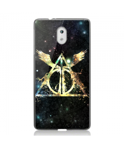 Deathly Hallows - Nokia 3 Carcasa Transparenta Silicon