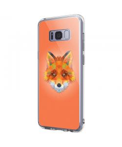 Origami Fox - Samsung Galaxy S8 Plus Carcasa Premium Silicon