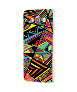 Patchy Stripes - Samsung Galaxy J5 Carcasa Silicon