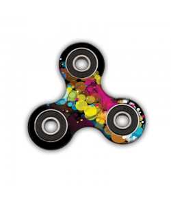 Fidget Spinner - Rainbow Bubbles