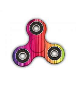 Fidget Spinner - Rainbow Warrior