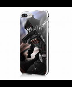 Reaper 2 - iPhone 7 Plus / iPhone 8 Plus Carcasa Transparenta Silicon