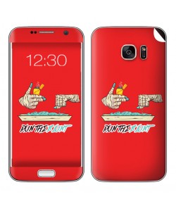 Run the Blunt - Samsung Galaxy S7 Edge Skin