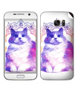 Galaxy Cat - Samsung Galaxy S7 Edge Skin