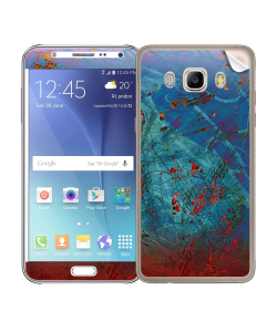 Metallic Scratch - Samsung Galaxy J5 Skin