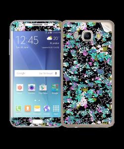Floral Black - Samsung Galaxy J5 Skin