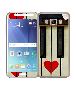 Piano Love - Samsung Galaxy J5 Skin