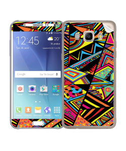 Patchy Stripes - Samsung Galaxy J5 Skin