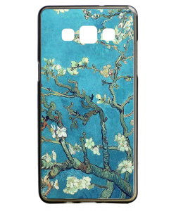 Van Gogh - Branches with Almond Blossom - Samsung Galaxy A5 Carcasa Silicon