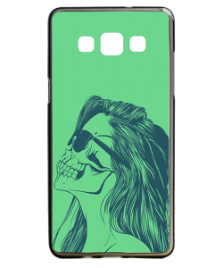 Skull Girl - Samsung Galaxy A5 Carcasa Silicon