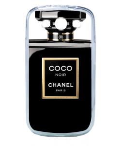 Coco Noir Perfume - Samsung Galaxy S3 Carcasa Transparenta Plastic