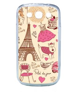 France - Samsung Galaxy S3 Carcasa Transparenta Silicon