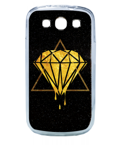 Diamond - Samsung Galaxy S3 Carcasa Transparenta Silicon