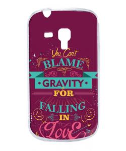 Falling in Love - Samsung Galaxy S3 Mini Carcasa Transparenta Plastic