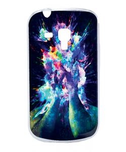 Explosive Thoughts - Samsung Galaxy S3 Mini Carcasa Transparenta Plastic