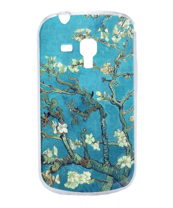 Van Gogh - Branches with Almond Blossom - Samsung Galaxy S3 Mini Carcasa Silicon