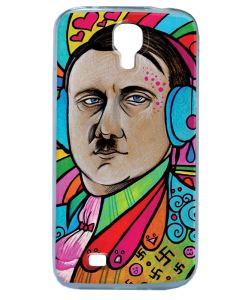 Hitler Meets Colors - Samsung Galaxy S4 Carcasa Transparenta Silicon