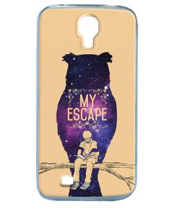 My Escape - Samsung Galaxy S4 Carcasa Transparenta Silicon